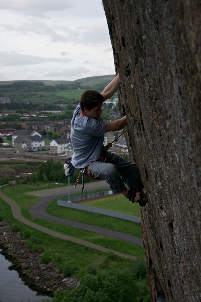 Nearing the top... Photo: Jen Randall