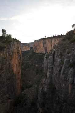 The canyons of Chulilla.